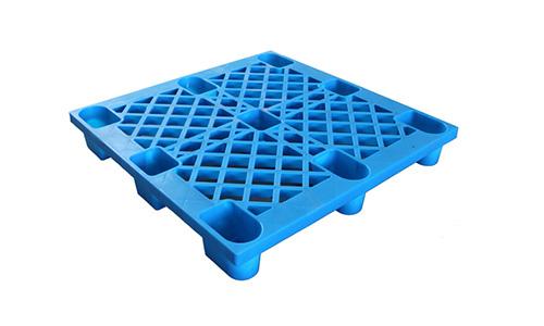 网格九脚型塑料托盘